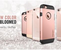 Spigen iPhone 6s/6s Plusのローズゴールド