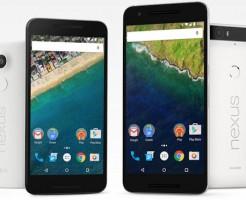 「Nexus 5X」と「Nexus 6P」