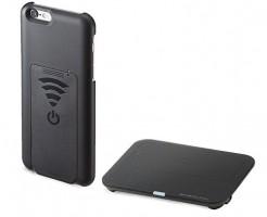 iPhone 6s/6 ワイヤレス充電ケース(Qiケース) WIR-047B
