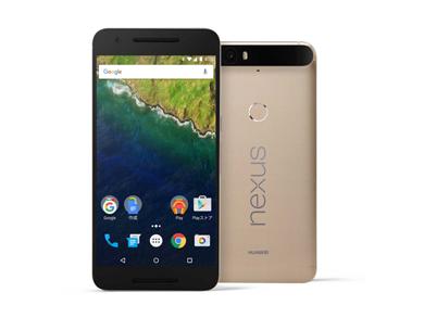 「Nexus 6P」の新色「ゴールド」